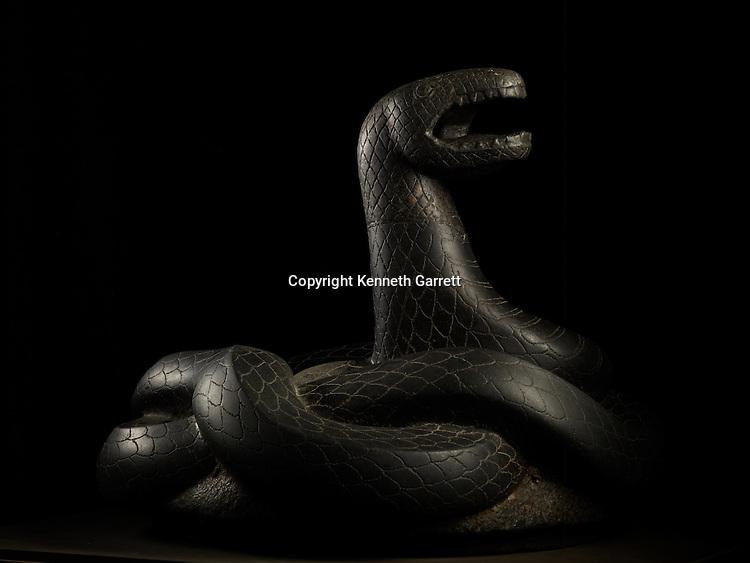 Last Pharaohs, MM7836, Egypt,  The Egyptian Museum, Black Snake, ptolemaic period, Alexandria