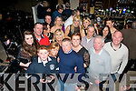 Mike O'Shea, Ballyvelly, Tralee (centre) had a great night in Kirby's Brogue last Saturday celebrating his 50th birthday along with many friends and family.