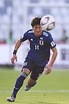 Kitagawa Koya of Japan in action during the AFC Asian Cup UAE 2019 Group F match between Japan (JPN) and Turkmenistan (TKM) at Al Nahyan Stadium on 09 January 2019 in Abu Dhabi, United Arab Emirates. Photo by Marcio Rodrigo Machado / Power Sport Images