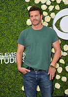 David Boreanaz at CBS TV's Summer Soiree at CBS TV Studios, Studio City, CA, USA 01 Aug. 2017<br /> Picture: Paul Smith/Featureflash/SilverHub 0208 004 5359 sales@silverhubmedia.com
