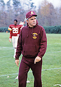Washington Redskins coach Rennie Simmons at Redskins Park in Herndon, Virginia on September 1, 1986.<br /> Credit: Arnie Sachs / CNP
