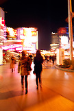 USA, Nevada, Las Vegas, a night on the town, walking the strip near Planet Hollywood, Sin City
