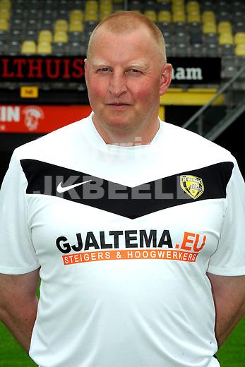 VEENDAM - SC Veendam, Jupiler League, seizoen 2011-2012, 20-7-2011 , Materiaalman Klaas Drewel.