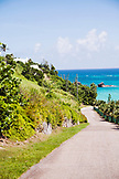BERMUDA. Scenic view from the road in Bermuda.