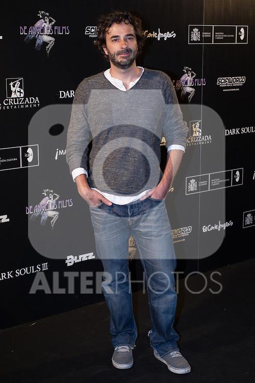 Gonzalo Lopez Gallego at Nocturna, the international festival of fantastic cinema of Madrid. May 23,2016. (ALTERPHOTOS/Rodrigo Jimenez)