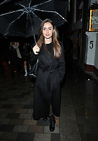 Lily Collins at the &quot;True West&quot; theatre press night, Vaudeville Theatre, The Strand, London, England, UK, on Tuesday 04 December 2018.<br /> CAP/CAN<br /> &copy;CAN/Capital Pictures