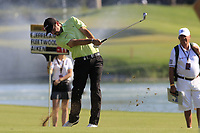 Thomas Aiken (RSA) plays his 2nd shot on the 10th hole during Sunday's Final Round of the 2018 Turkish Airlines Open hosted by Regnum Carya Golf &amp; Spa Resort, Antalya, Turkey. 4th November 2018.<br /> Picture: Eoin Clarke | Golffile<br /> <br /> <br /> All photos usage must carry mandatory copyright credit (&copy; Golffile | Eoin Clarke)