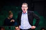 S&ouml;dert&auml;lje 2015-10-20 Basket Basketligan S&ouml;dert&auml;lje Kings - Bor&aring;s Basket :  <br /> Bor&aring;s head coach Patrick Pat Ryan reagerar under matchen mellan S&ouml;dert&auml;lje Kings och Bor&aring;s Basket <br /> (Foto: Kenta J&ouml;nsson) Nyckelord:  S&ouml;dert&auml;lje Kings SBBK T&auml;ljehallen Bor&aring;s Basket portr&auml;tt portrait tr&auml;nare manager coach