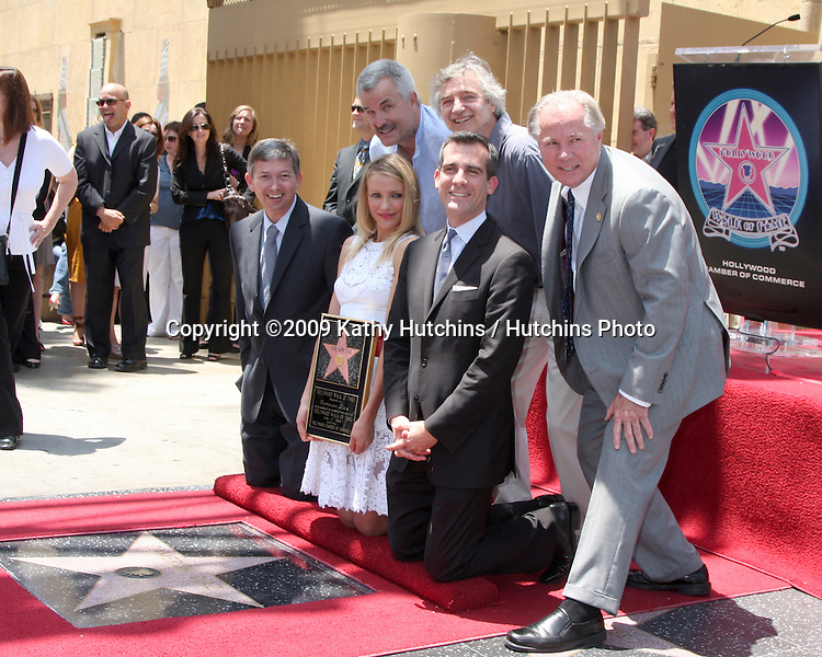 Cameron Diaz at the Cameron Diaz Star on the Hollywood Walk of Fame Ceremony  in front of the Egyptian Theater on June 22, 2009.  .©2009 Kathy Hutchins / Hutchins Photo