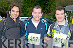 Athletes l-r: Tom Curran Killarney, Alan Horgan Killarney and Cieran O'Donoghue Listry who competed in the Killarney Adventure race on Saturday ..