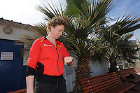 SCHAATSEN: EILAT (ISR): Trainingskamp Team Op=Op Voordeelshop, 17-01-2012, trainer/coach Renate Groenewold, ©foto Martin de Jong