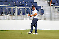 Eduardo De La Riva at the 17th green during the BMW PGA Golf Championship at Wentworth Golf Course, Wentworth Drive, Virginia Water, England on 25 May 2017. Photo by Steve McCarthy/PRiME Media Images.