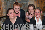 GET TOGETHER: Nora Fitzgerald, Tina Hanlon, Shanagolden, with Kristy and Donna Griffin Foynes who got together to celebrate women's Christmas in Kirby's Lanterns Hotel on Saturday night..   Copyright Kerry's Eye 2008