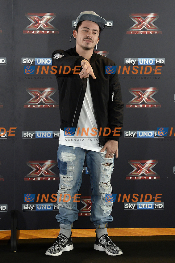 Db Milano 26/10/2016 - photocall trasmissione Tv 'X-Factor' / foto Daniele Buffa/Image/Insidefoto <br /> nella foto: Lorenzo Lumia Loomy