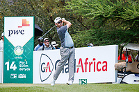 Louis Oosthuizen (RSA) on the 14th tee during the final round of the Nedbank Golf Challenge hosted by Gary Player,  Gary Player country Club, Sun City, Rustenburg, South Africa. 11/11/2018 <br /> Picture: Golffile | Tyrone Winfield<br /> <br /> <br /> All photo usage must carry mandatory copyright credit (&copy; Golffile | Tyrone Winfield)