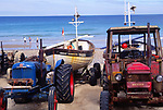 AMFXFE Fishing boats Cromer Norfolk England