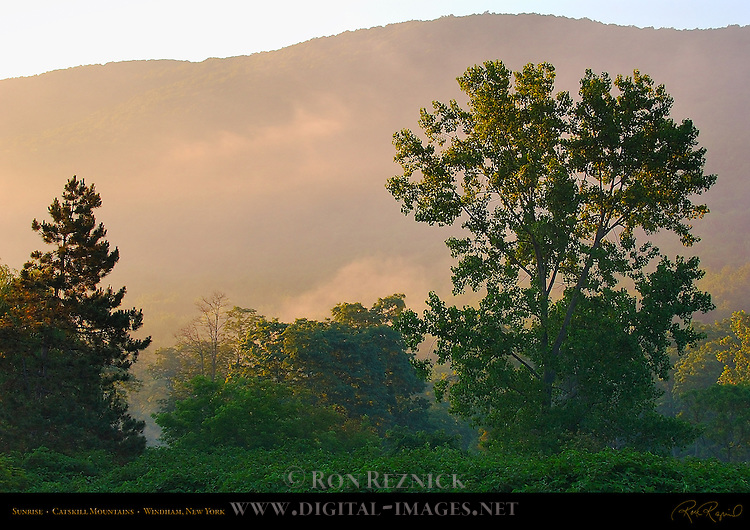 Sunrise, Catskill Mountains, Windham, New York