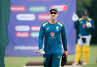 Justin Langer during a Training Session at Edgbaston Stadium on 10th July 2019