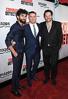 www.acepixs.com<br /> <br /> August 3 2017, LA<br /> <br /> (L-R) Cornilieu Ulici, Channing Tatum and Florin Piersic Jr. arriving at the premiere of Amazon's 'Comrade Detective' at the ArcLight Hollywood on August 3, 2017 in Hollywood, California<br /> <br /> By Line: Peter West/ACE Pictures<br /> <br /> <br /> ACE Pictures Inc<br /> Tel: 6467670430<br /> Email: info@acepixs.com<br /> www.acepixs.com