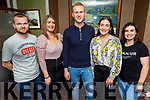 Enjoying the 4th of July Independance Day celebrations in the Rose Hotel on Saturday.<br /> L to r: Joey O'Shea, Toni Chute, Darragh and Danielle Healy and Helena O'Connor.