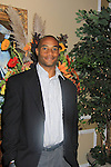 Sports Celebrity Virginia Tech, NFL, WFL wide receiver Shawn Scales at the 33rd Annual Mountain State Apple Harvest Festival (MSAHF) 2012  on October 20, 2012 at the Queen's Grand Ball at the Historic Shenandoah Hotel, Martinsburg, West Virginia. (Photo by Sue Coflin/Max Photos)