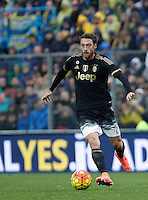 Calcio, Serie A: Frosinone vs Juventus. Frosinone, stadio Comunale, 7 febbraio 2016.<br /> Juventus&rsquo; Claudio Marchisio in action during the Italian Serie A football match between Frosinone and Juventus at Frosinone's Comunale stadium, 7 January 2016.<br /> UPDATE IMAGES PRESS/Isabella Bonotto