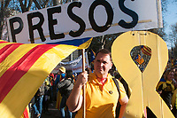 2019 03 16 catalonian Independentist demonstration in Madrid