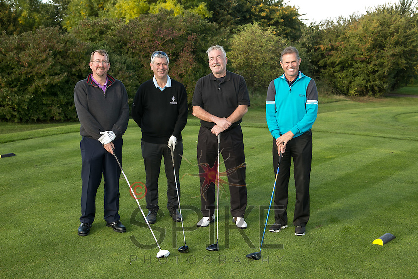 From left are Pedigree Automotive's Paul Roberts, Trevor Harris, Bill Howle and Graham Williams