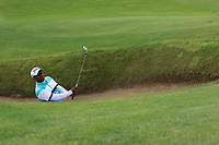 Rayhan John Thomas of Team India on the 5th during Round 3 of the WATC 2018 - Eisenhower Trophy at Carton House, Maynooth, Co. Kildare on Friday 7th September 2018.<br /> Picture:  Thos Caffrey / www.golffile.ie<br /> <br /> All photo usage must carry mandatory copyright credit (&copy; Golffile | Thos Caffrey)