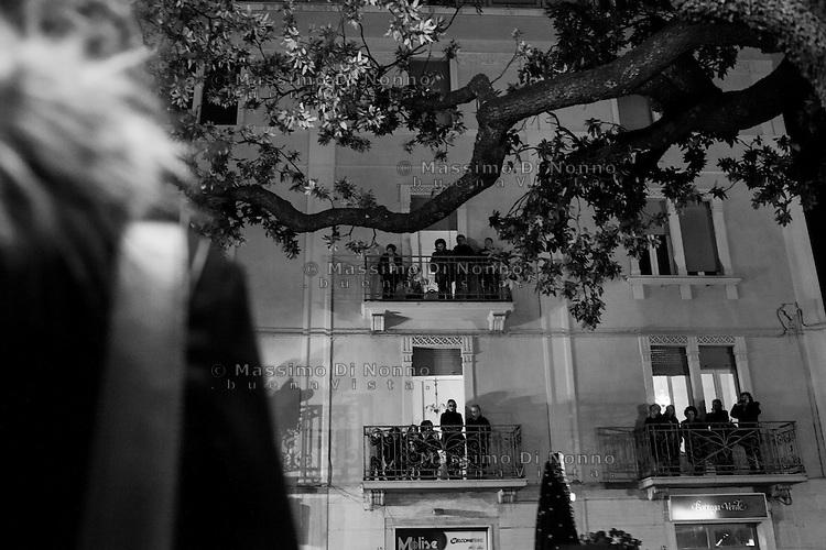 Campobasso: celebrazioni per ricordare il giorno della crocifissione di Ges&ugrave;. Ogni anno nelle strade della citt&agrave; si svolge la tradizionale processione.<br /> <br /> Campobasso: procession to celebrate the day of the crucifixion of Jesus.