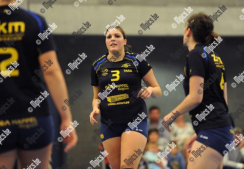 2013-09-28 / Volleybal / seizoen 2013-2014 / Amigos Zoersel / Tara Lauwers<br /><br />Foto: Mpics.be