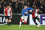 28.11.2019: Feyenoord v Rangers: Ryan Kent and Lutsharel Geertruida