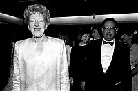 Flora McDonald, Canadian Minister of Communications  attend the opening of the  (Montreal) World Film Festival on August 21, 1987.<br /> <br /> File Photo : Agence Quebec Presse - Pierre Roussel
