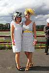 Susan Clarke and Christina Lynch at Bellewstown races.Picture Fran Caffrey www.newsfile.ie
