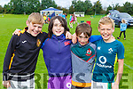 CAthal Larkin, Peter and Nathan Herlihy and Mark Larkin at the Firies GAA funday on Sunday