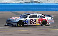 Apr 17, 2009; Avondale, AZ, USA; NASCAR Sprint Cup Series driver Scott Speed during practice for the Subway Fresh Fit 500 at Phoenix International Raceway. Mandatory Credit: Mark J. Rebilas-