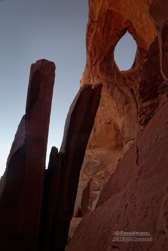 Sun's Eye Arch, Monument Valley, Arizona