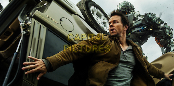 Mark Wahlberg, Lockdown<br /> in Transformers: Age of Extinction (2014) <br /> *Filmstill - Editorial Use Only*<br /> CAP/FB<br /> Image supplied by Capital Pictures