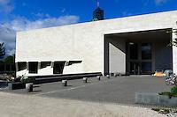 Mudam-Musée d?Art Moderne Grand-Duc Jean auf dem Kirchberg, Architekt Ieoh Ming Pei, Stadt Luxemburg, Luxemburg