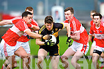 In Action Dr Crokes Kieran O'Leary at the Dingle V Dr Crokes in the Senior Club Championship Semi Final at Austin Stack Park on Saturday