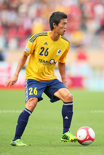 Shuto Yamamoto (TEAM AS ONE), JUNE 16, 2013 - Football / Soccer : the 2013 J.League Special Match for reconstruction support of the Great East Japan Earthquake between J.League TEAM AS ONE 2-1 J.League all-star team at National Stadium, Tokyo, Japan. (Photo by AFLO SPORT) [1156]