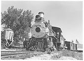 RGS 4-6-0 #20 at Colorado Railroad Musuem.<br /> RGS  Colorado Railroad Museum, Golden, CO  Taken by Hanslek, John - 1974