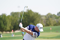 Richard McEvoy (ENG) on the driving range during the Pro-Am of the Abu Dhabi HSBC Championship 2020 at the Abu Dhabi Golf Club, Abu Dhabi, United Arab Emirates. 15/01/2020<br /> Picture: Golffile | Thos Caffrey<br /> <br /> <br /> All photo usage must carry mandatory copyright credit (© Golffile | Thos Caffrey)