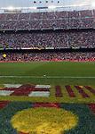 A general view of the Camp Nou Stadium. Barcelona v Osasuna (0-1), La Liga, Nou Camp, Barcelona, 23rd May 2009.