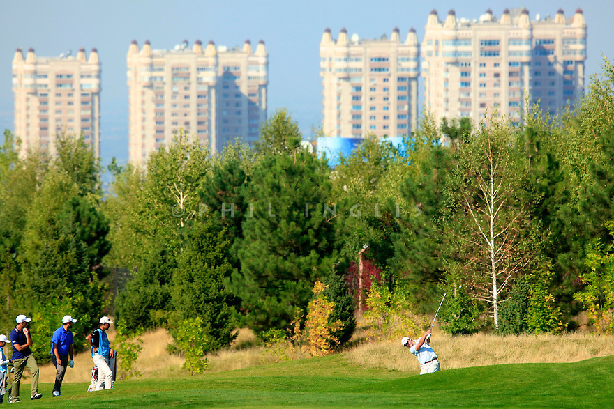 Scott Henry (SCO) during the final round of the Kazakhstan Open played at Zhailjau Golf Resort, Almaty on September 16, 2012 in Almaty, Kazakhstan.(Picture Credit / Phil Inglis)