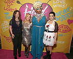 Kathy Valentine, Charlotte Caffey, Peppermint and Jane Wiedlin attends the Opening Night Performance of ''Head Over Heels' at the Hudson Theatre on July 26, 2018 in New York City.