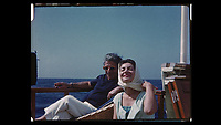 MARIA CALLAS: IN HER OWN WORDS (2017)<br /> ARISTOTLE ONASSIS, MARIA CALLAS<br /> *Filmstill - Editorial Use Only*<br /> CAP/FB<br /> Image supplied by Capital Pictures
