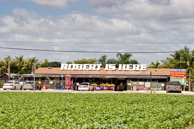Robert is Here is a great stop for visitors on the Tropical Trail to buy local produce and see the storybook zoo.