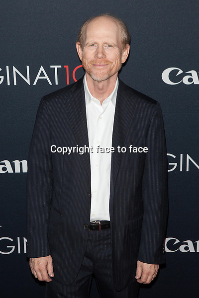 NEW YORK, NY - OCTOBER 24, 2013: Ron Howard attends the Premiere Of Canon's Project Imaginat10n Film Festival at Alice Tully Hall on October 24, 2013 in New York City. <br />