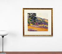 "Burtt: Memory Of Glenna, Digital Print, , Framed Dims. 27.5"" x 29.5"" x 2"""